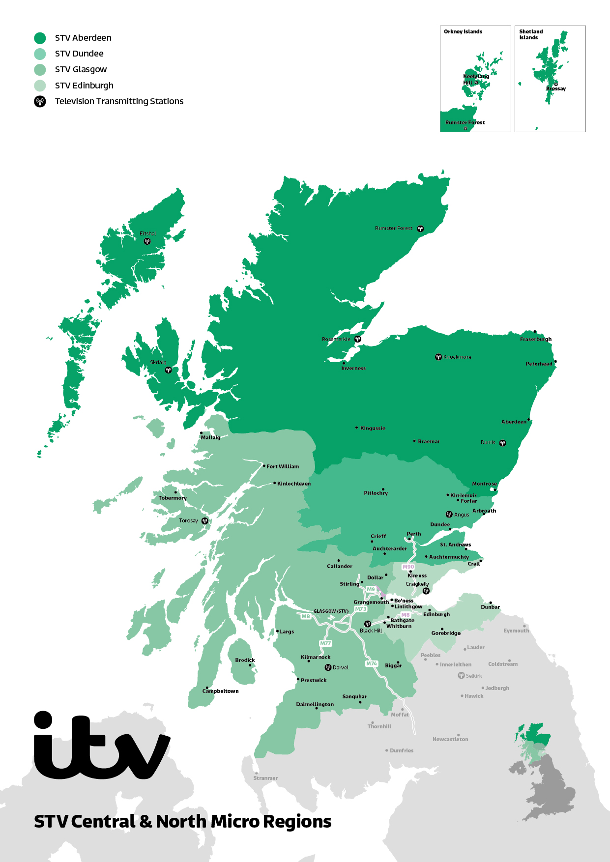 ITV Map Scotland 2019