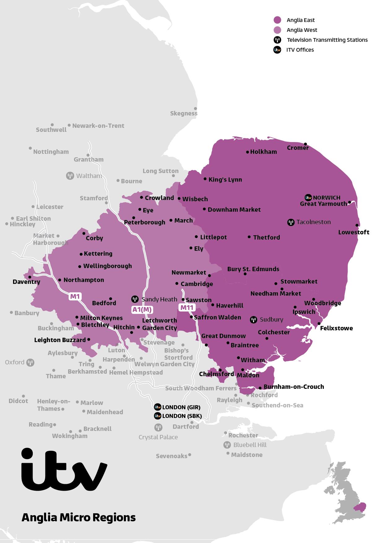 ITV Map Anglia Micro