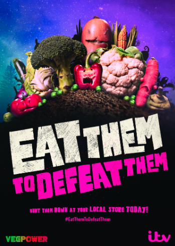 Eat them to defeat them poster